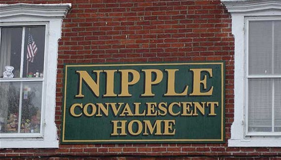 Nipple Convalescent Home ~ Funny Strange Signs Lost in Translation