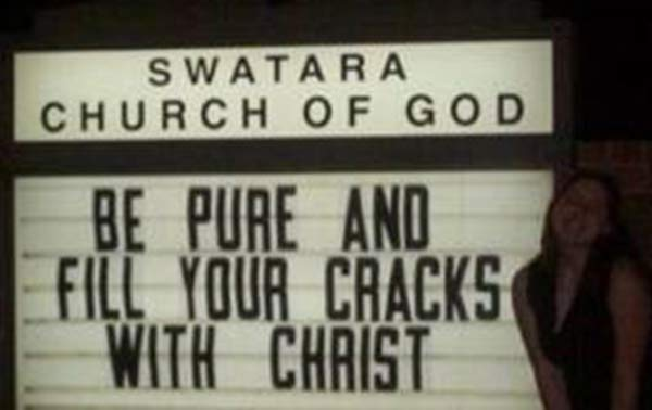 20 Funny Church Signs That Might Send Someone to Hell