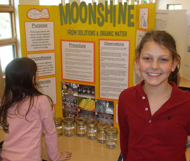 27 Funny Science Fairs with Projects that Rock! ~ Moonshine elementary school