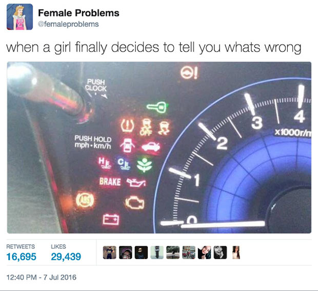 Female Problems: Hilarious Tweets That Every Woman Gets