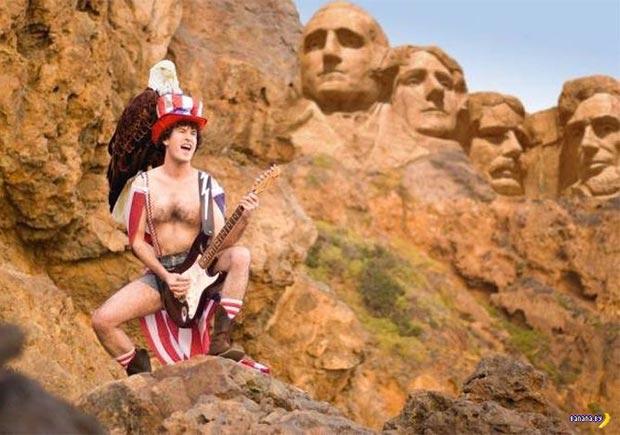 Rockin' America at Mount Rushmore
