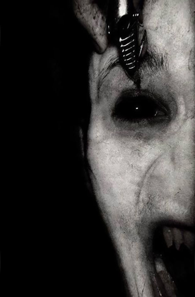 demonic ~ old creepy photos
