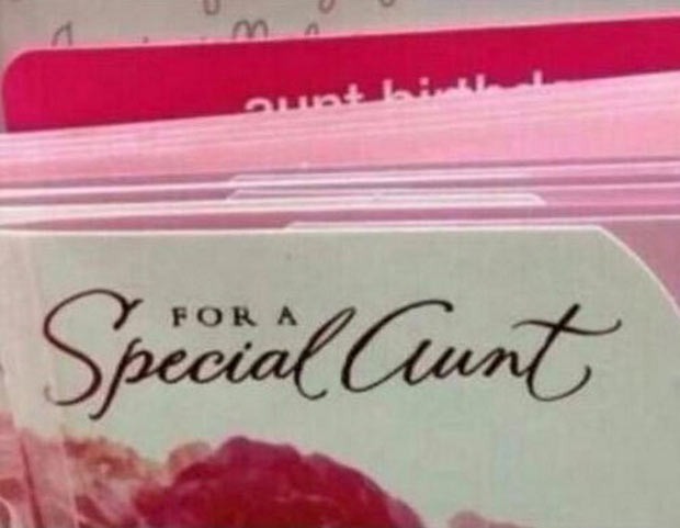 """He might mean """"Aunt"""" Then again, you don't know his Aunt."""