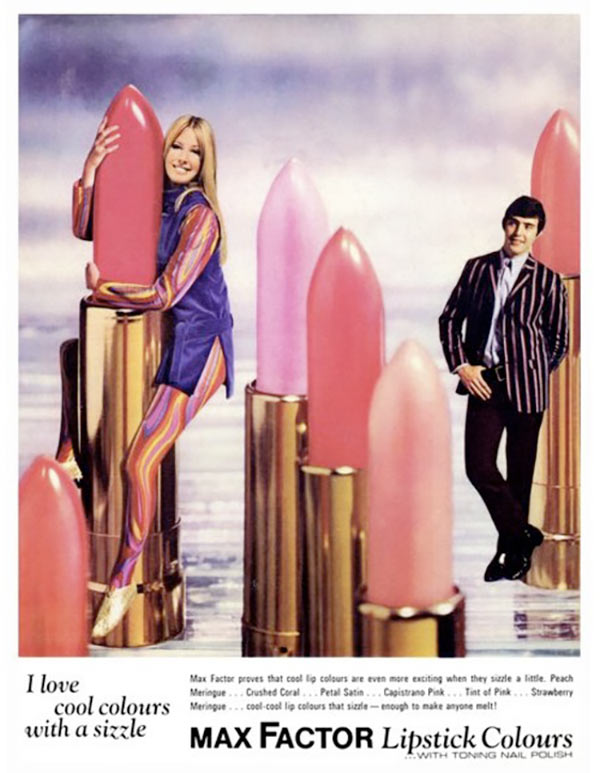 Why so subtle, Max Factor? ... ~ Sexist ads vintage and new