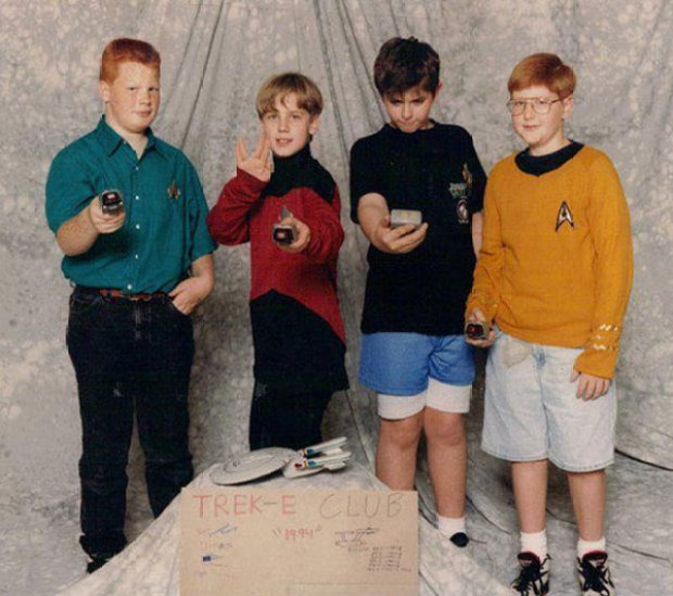 This Trek-E Club shot was taken in 1994. These boys would now be in their thirties. Which one do you think still lives in his mom's basement?