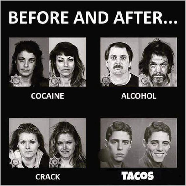 Before and After... Reality Check! ~.~ funny pics & memes tacos!