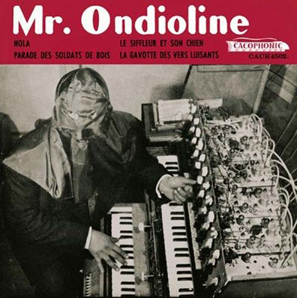 Be afraid. Be very, very afraid... Mr. Ondioline ~~ Funny Bad Album Covers