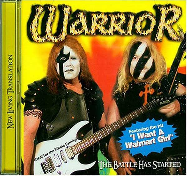 Why I stop at Target ~ Warrior The Battle has Started, I want a Walmart Girl ~~ Funny Bad Album Covers