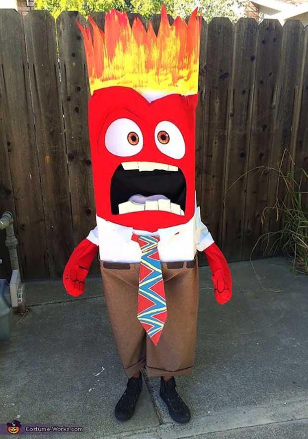Angry Face ~ ~ Best Halloween Costumes