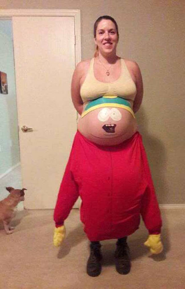 South Park Pregnant Woman ~ Funny Halloween Costumes