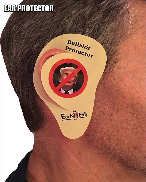 Bullshit Ear Protector ~ 18 Best Christmas Gifts for Trump Lovers and Haters