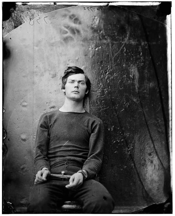 Lewis Payne, co-conspirator to the assassination of President Lincoln, just before to his execution in 1865.