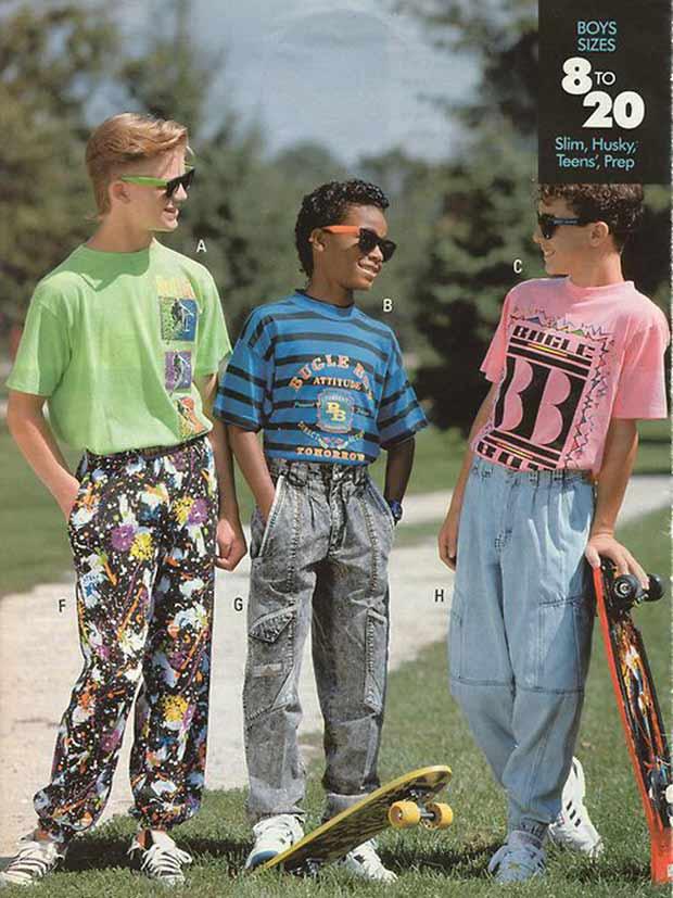 vintage 1980s boys catalogue 80s fashions funny pics