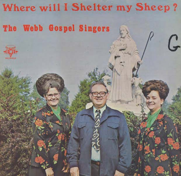 27 Bad Album Cover - The Worst of the Funny ~ The Webb Gospel Singers Where will I shelter my sheep