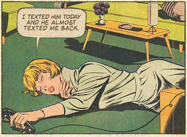 ~ 33 Funny Pics and Memes, and Random Humor ~Funny vintage comic frame reworked ~almost texted me