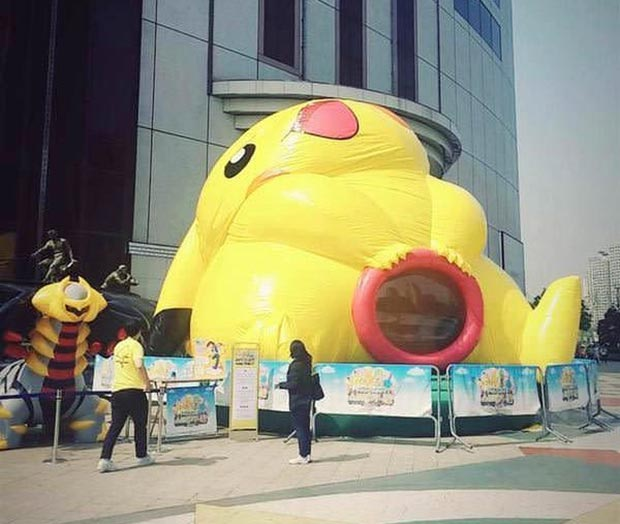 Inappropriate Pokemon Balloon ~ 33 Funny Pics and  Memes, Random Humor