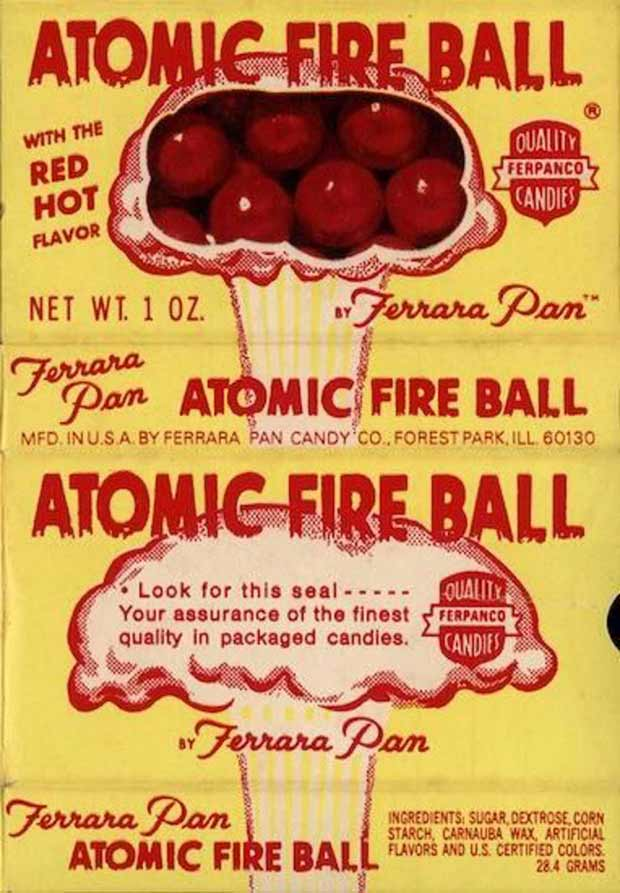 Vintage candy ~ Atomic Fire Balls ~ 33 Funny Pics and Memes best