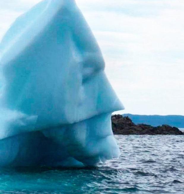 Random Humor : 35 Funny Pics and Memes ~ batman face iceberg
