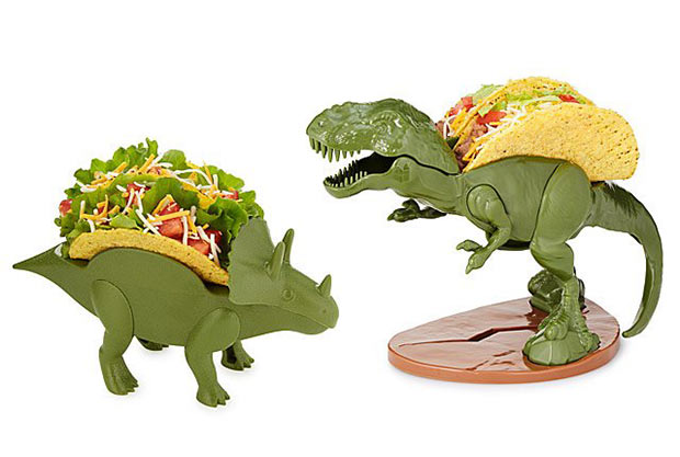 20 Hilarious Christmas Gifts for under $20 – Dinosaur Taco Holders