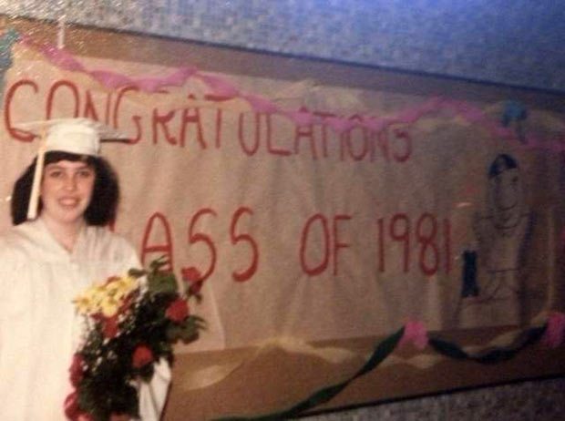 35 Funny Memes and Pics of Humor Galore ~ Vintage 1980s graduation photos