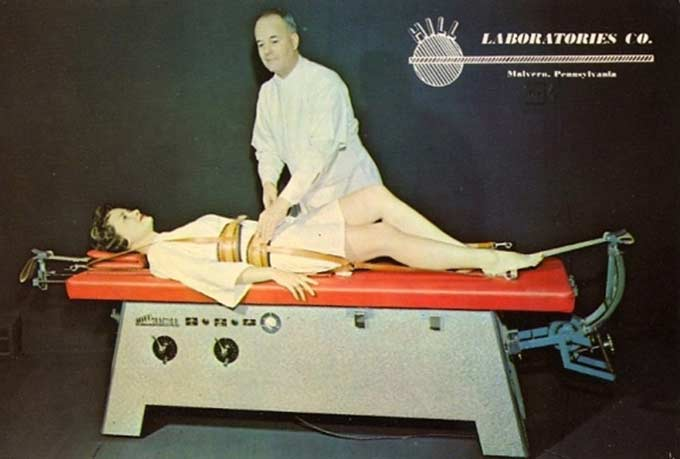 34 Funny Memes and Random Pics with Humous Convictions ~ vintage bad post card chiropractor