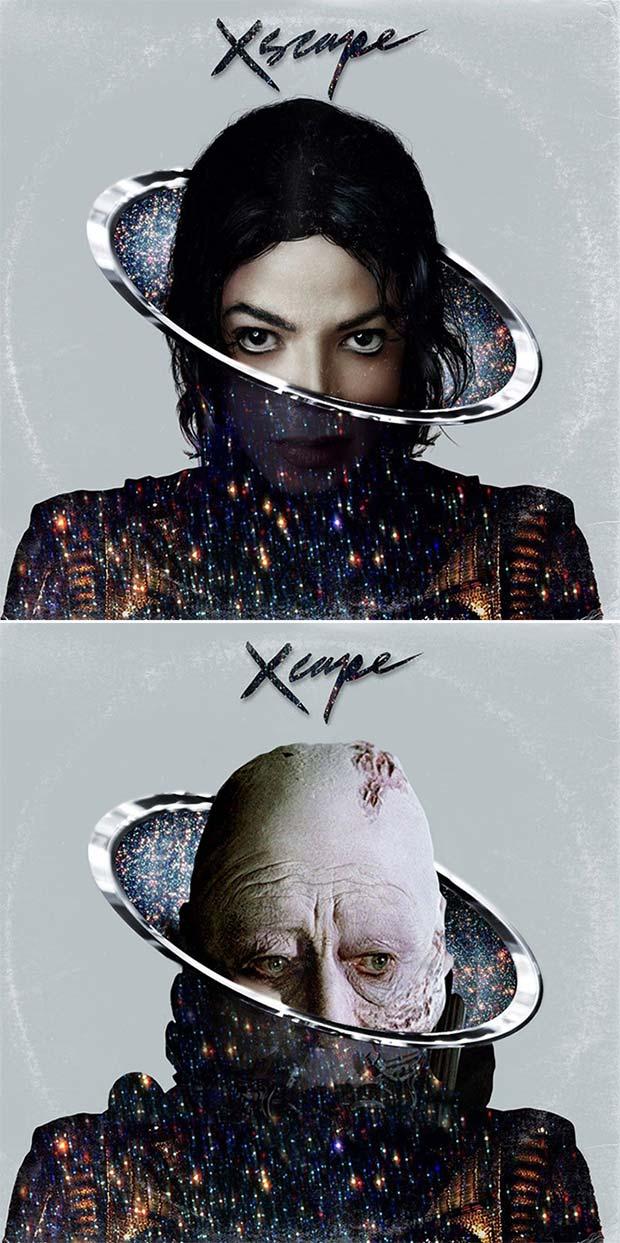 28 Star Wars ~ Classic Album Covers Mash-ups That ROCK! ~ Micheal Jackson Xscape