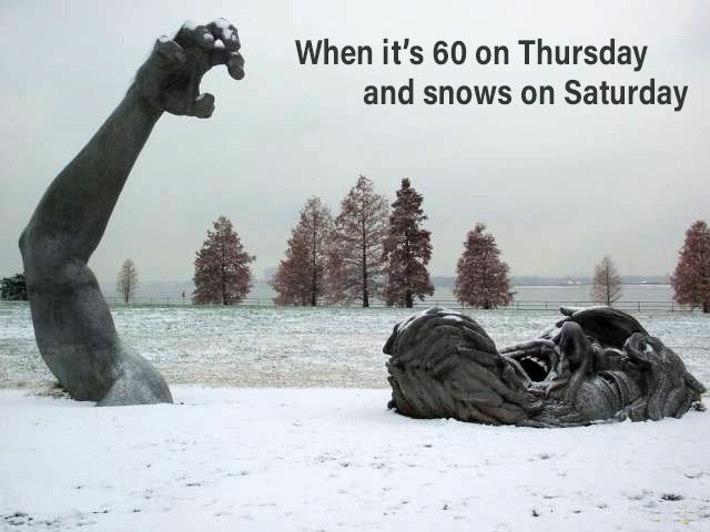 35 Funny Memes and Random Pics to Fuel Your Humor ~ winter snow
