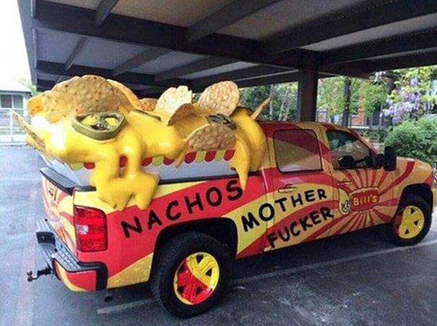 33 Funny Memes and Crazy Pics That'll Tickle Your Soul ~ crazy nacho truck street food