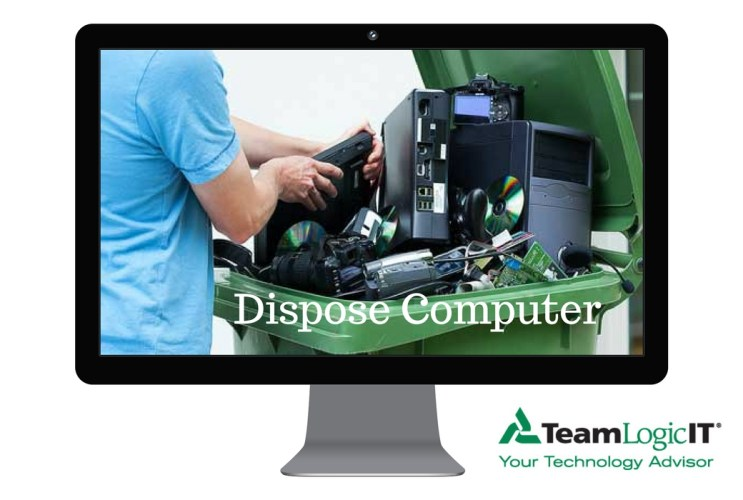 How to Dispose Old Computer