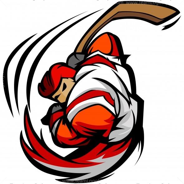 hockey player clip art vector clipart player rh teamlogostyle com hockey clipart free hockey clip art images free
