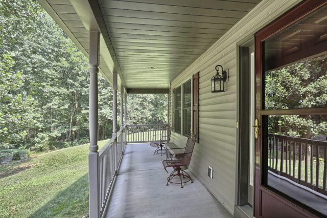 204 Black Oak Road - Front Porch view 1
