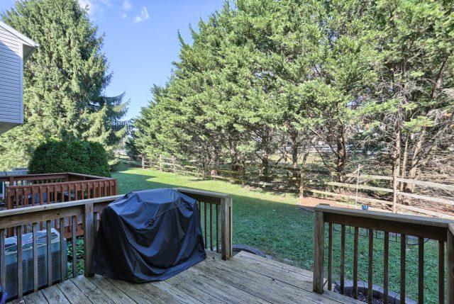 594 Cloverbrook Dr - back yard