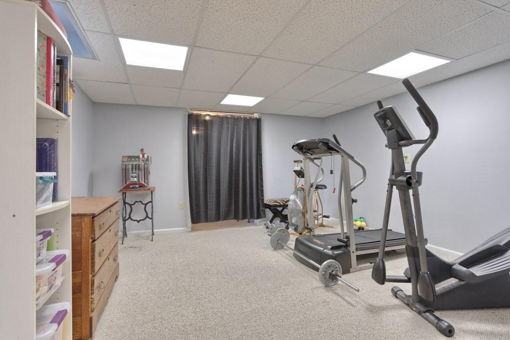 233 Troon Way - Basement Workout Area