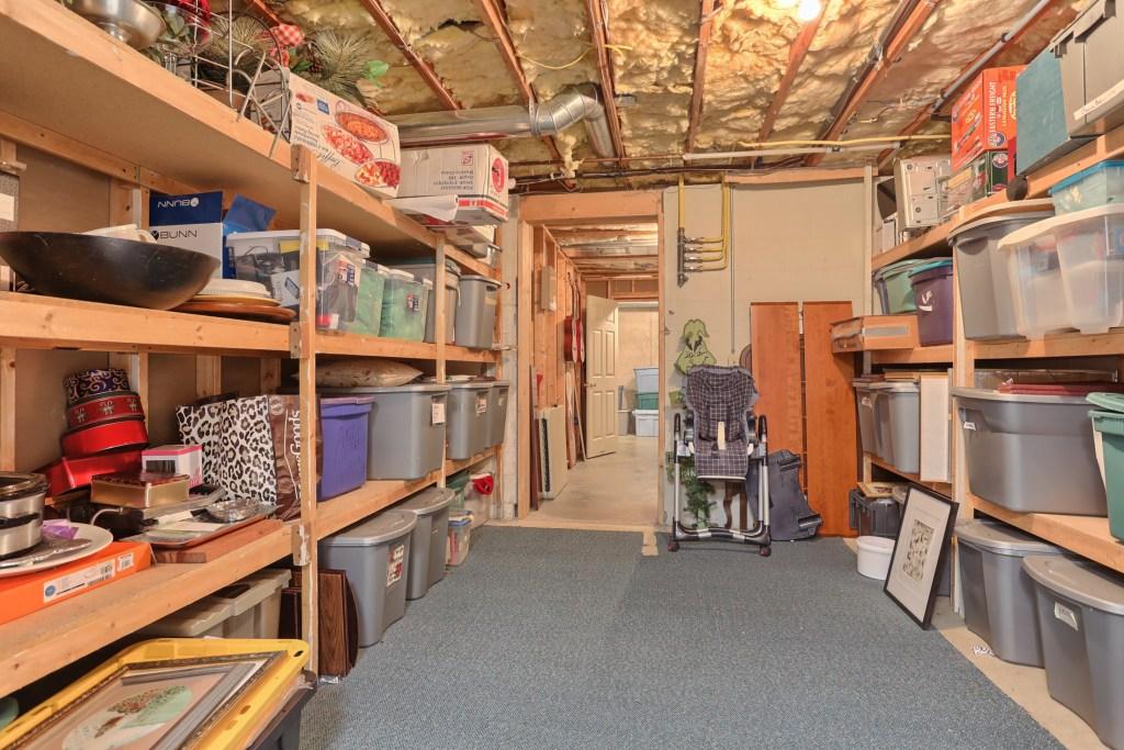 233 Troon Way - Basement Storage Room