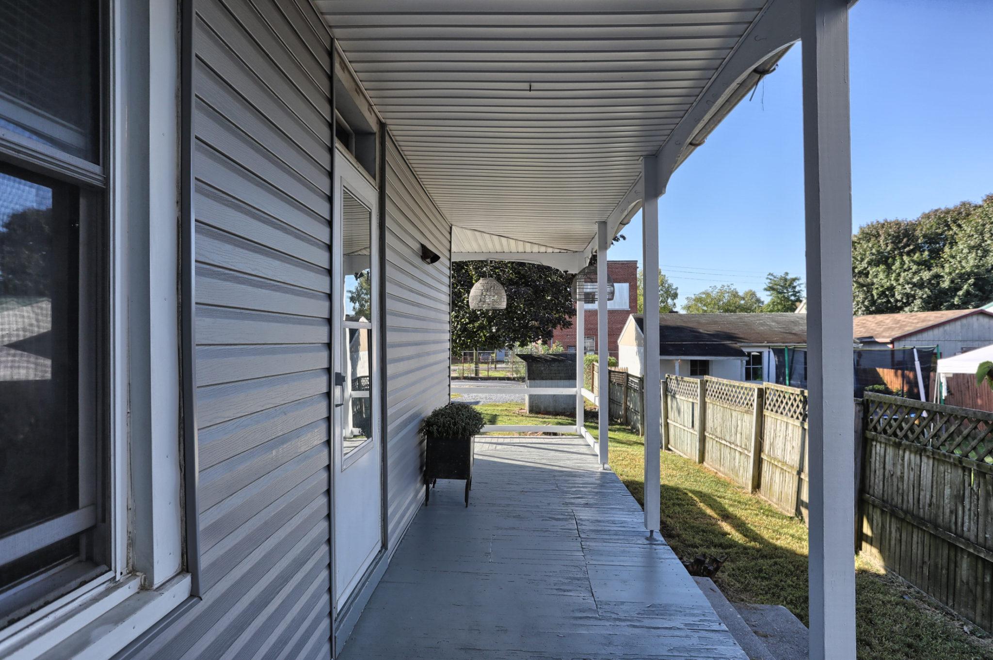 12 E. Maple Avenue - side porch 2