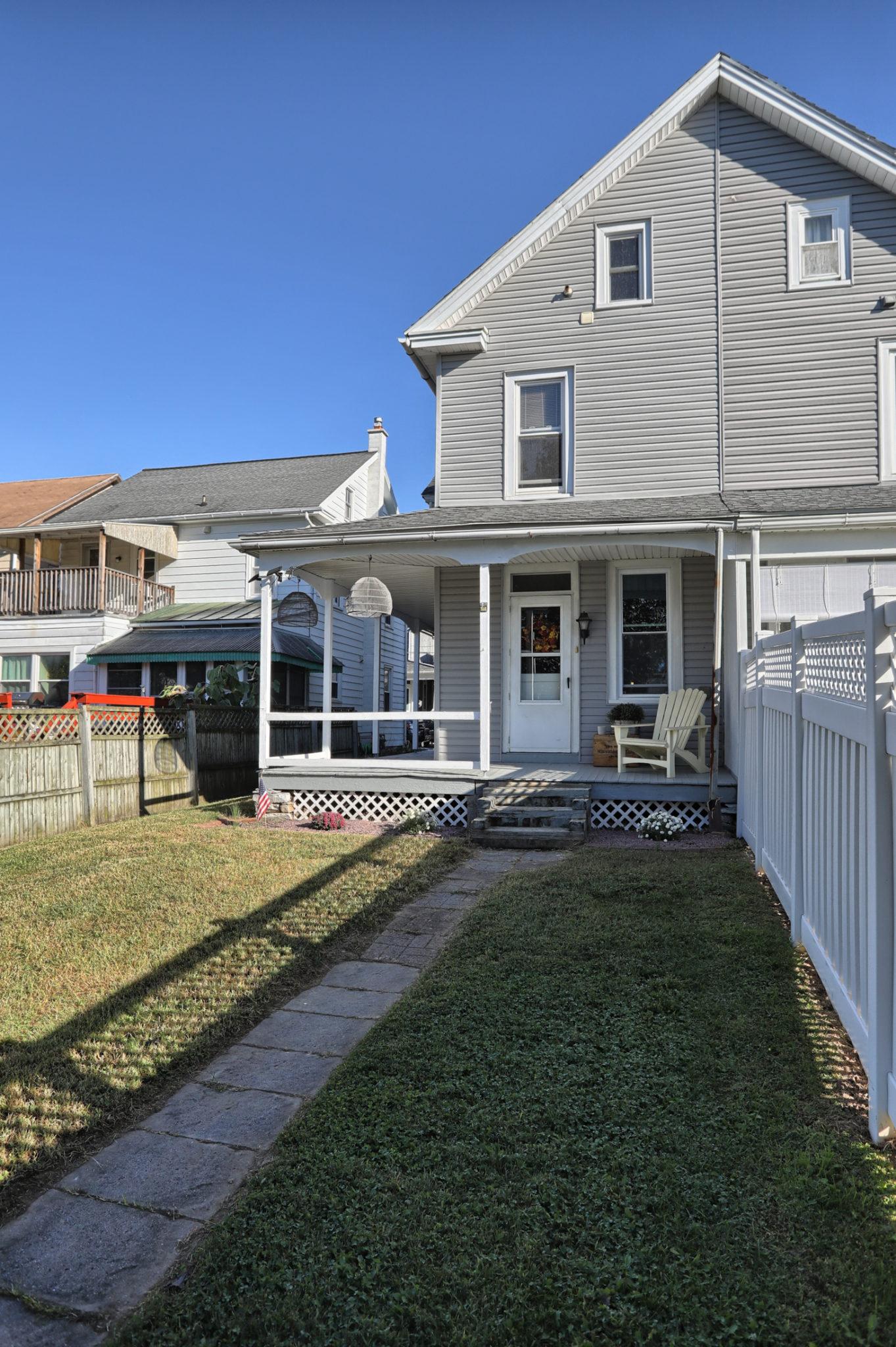 12 E. Maple Avenue - Back of home 2