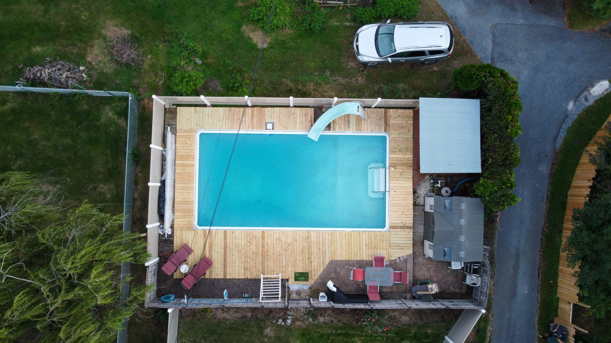 2022 Kline St. - Overhead of pool