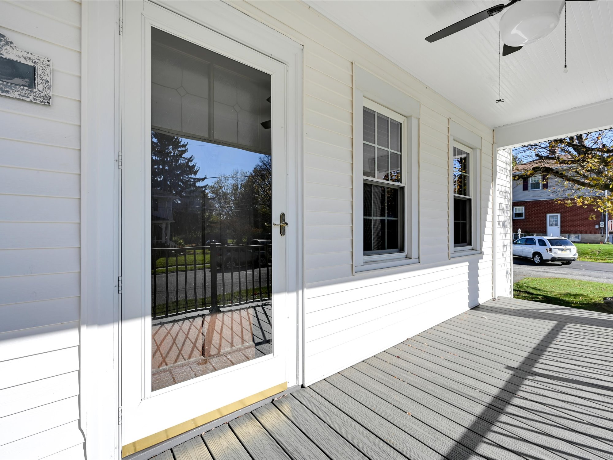 Front porch of this Cornwall Charmer at 111 Pine Street