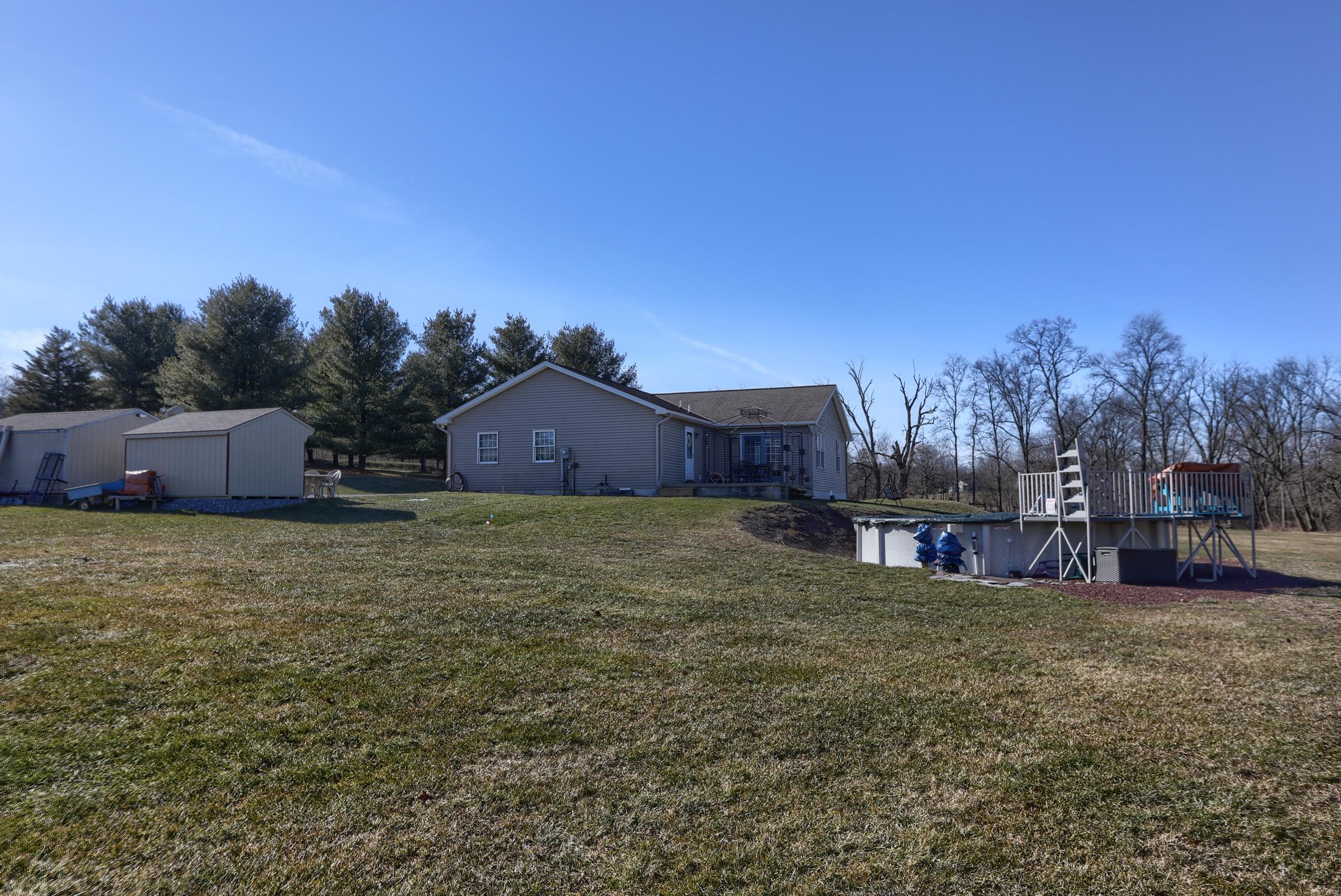 26 W. Strack Drive - yard and pool