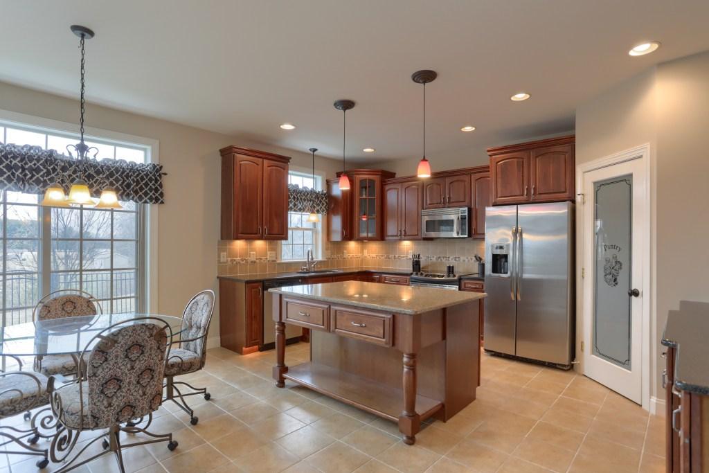 2000 mallard lane - kitchen with island