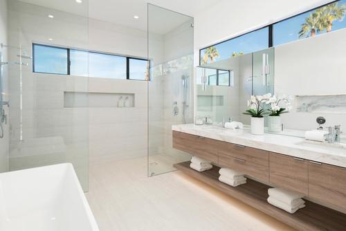 Modern Bathroom | Photo by Coda Construction LLC | Search bathroom ideas via Houzz