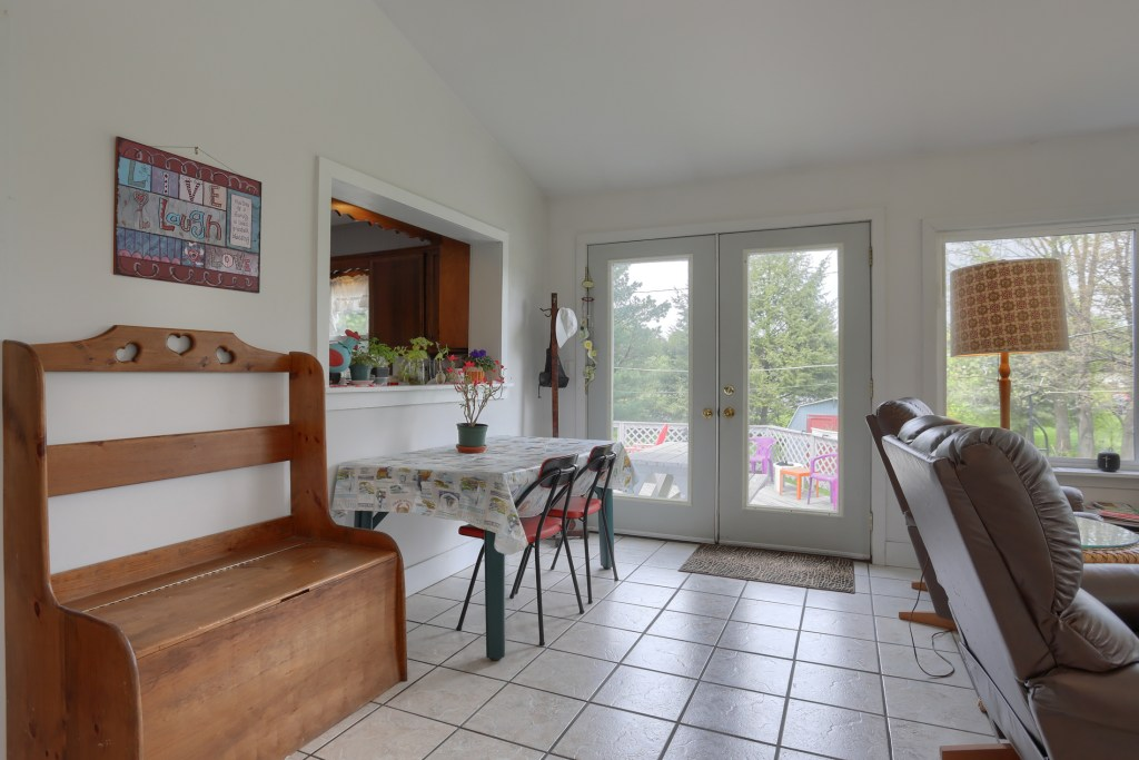 17 E. Hill St, Jonestown - Sunroom and access to deck