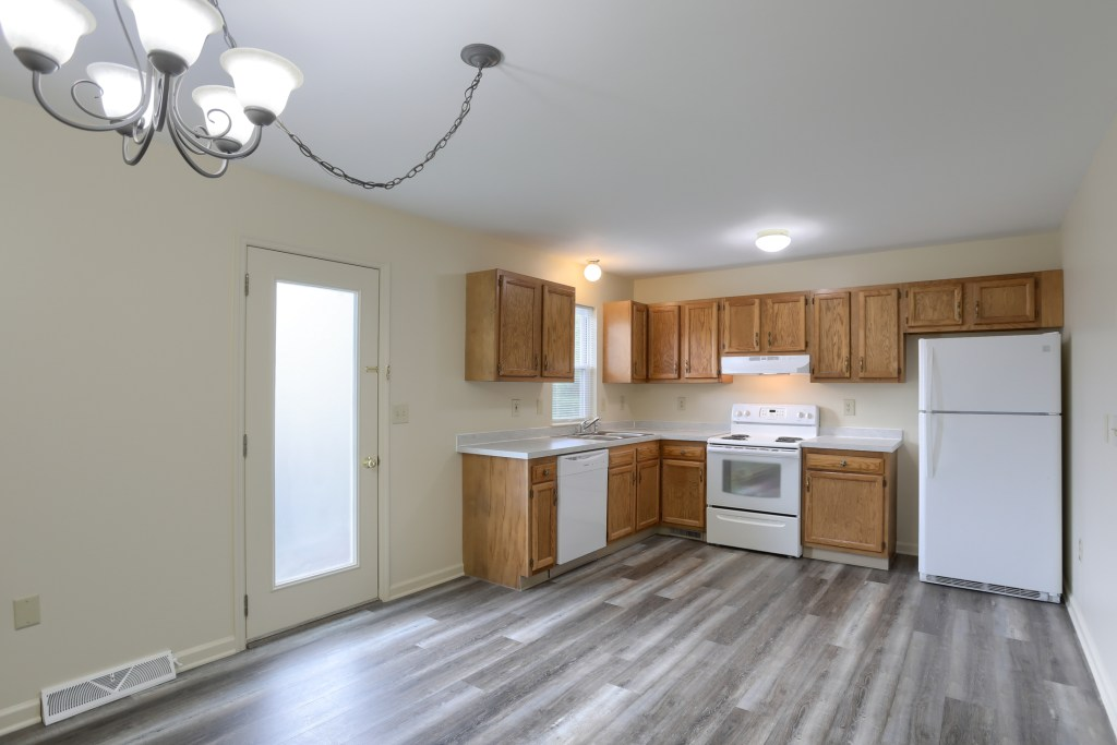 25 Tiffany Lane - Kitchen includes appliances in this move in ready townhome