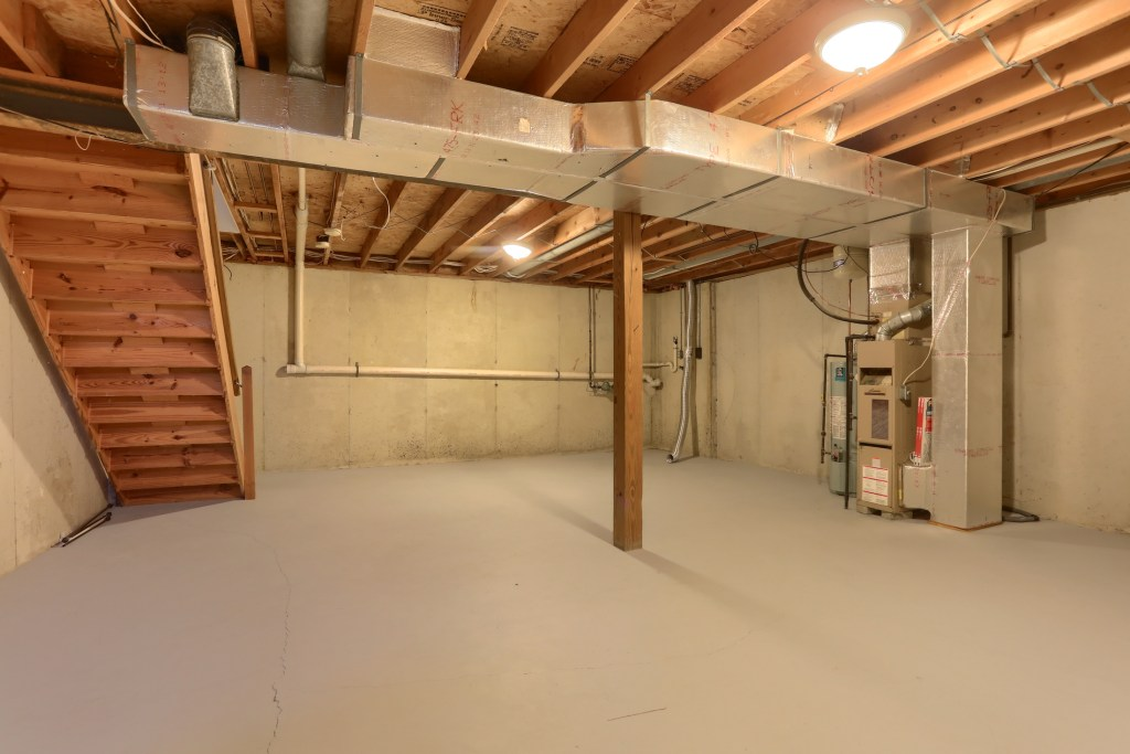 2158 Walnut Street - basement with laundry hookup