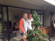 Christmas celebrations in New Zealand with our Kiwi friends.
