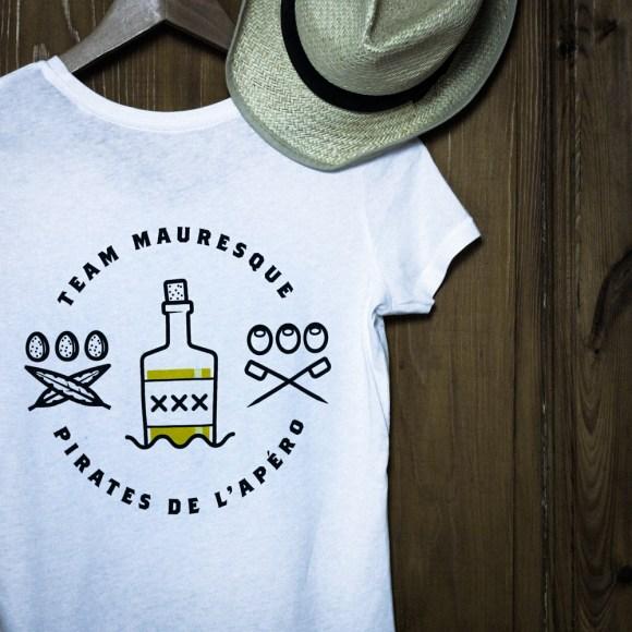 T-shirt Femme Pirate de l'apéro - Arrière
