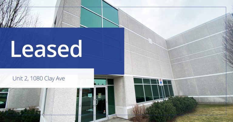 2 1080 Clay Avenue - Leased - Colliers