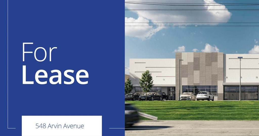 548 Arvin Avenue, Stoney Creek - For Lease - 6,900 SF - 27,000 SF new industrial units