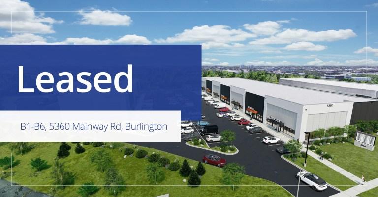 B1- B6 , 5160 Mainway, Burlington - Leased
