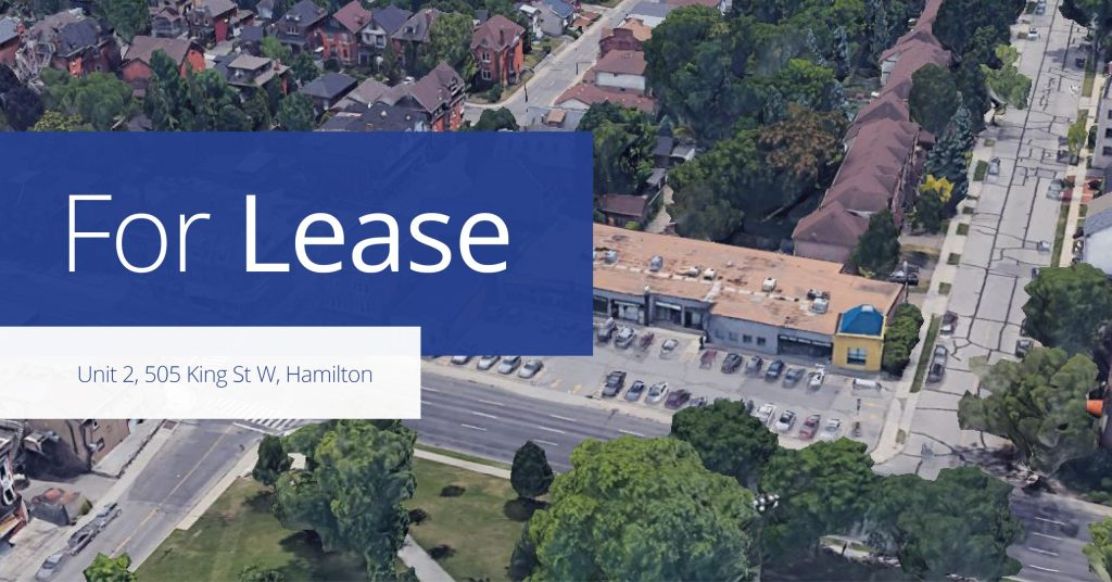 505 King Street W - For Lease - Colliers